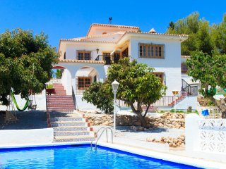 4 bedroom Villa in Frigiliana, Andalusia, Spain : ref 5545584