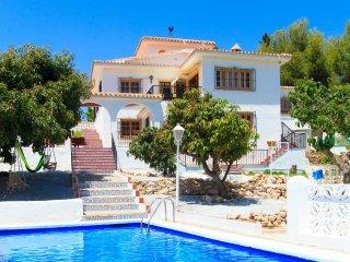 4 bedroom Villa in Frigiliana, Andalusia, Spain : ref 5545584