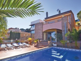 4 bedroom Villa in Calella, Catalonia, Spain : ref 5538642