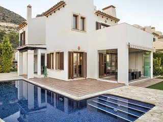 4 bedroom Villa in Carrefour Benidorm, Valencia, Spain : ref 5537804