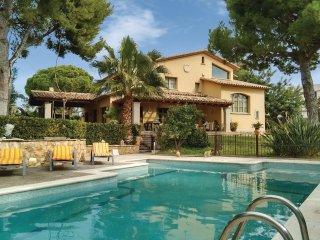 5 bedroom Villa in Roda de Berà, Catalonia, Spain : ref 5533921