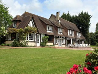 8 bedroom Villa in Fauguernon, Normandy, France : ref 5532802