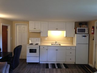 Modern, private 1 BR basement apartment, Belleville East End