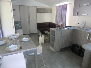 LOCATION MOBILHOME CAMPING 3* ACCES PROCHE OCEAN et BASSIN d'ARCACHON