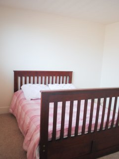 Double Bedroom with a nice firm mattress.