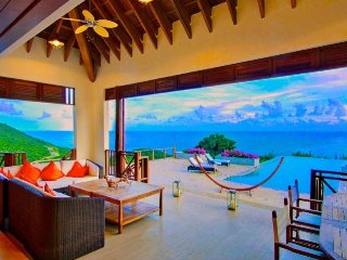 Silver Turtle - Luxury  Villa - Canouan 6 Bedroom Morpiceax Villa