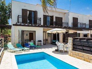 Gr8padz - Summer Breeze Villa privatize pool sleeps 6 close to Protaras