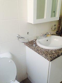 wash hand basin main bathroom
