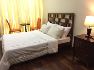 1-Bedroom Condo with WiFi, Cable TV, Pool & Gym in The Padgett Place, Cebu