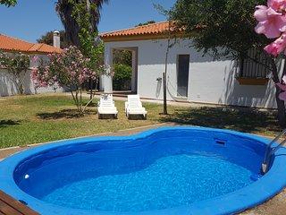 Chalet con  piscina en Conil.Roche -Pilahito