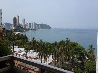 Apartamento penthouse en el rodadero grupos excursiones frente a la playa