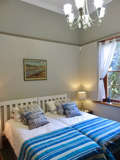Our twin bedded room gives flexibility