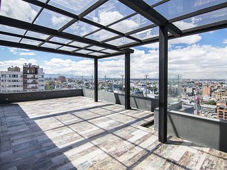 Bog099-4 bedroom penthouse in Chico Cabrera for vacation rentals
