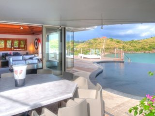 Villa Indian Song 4 Bedroom # Beach View - Located in  Magnificent Petit Cul de