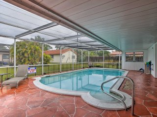 NEW! 3BR Coconut Creek House w/Private Pool, Lanai