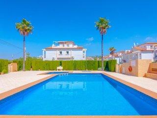 Casa de vacaciones Michel en Calp,Alicante,para 4 huespedes