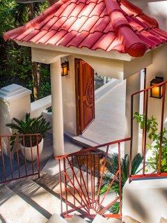 Entrance to Alaina's Retreat