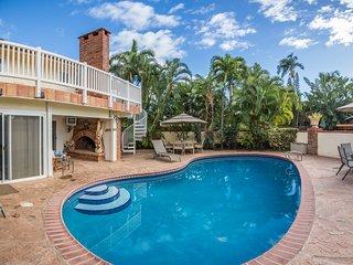 Beautiful pool view.