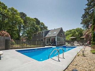 NEW! 4BR Mashpee House w/Pool - Half Mile to Beach