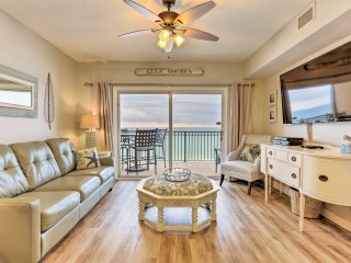 NEW! Beachfront 2BR+Media Room Gulf Shores Condo!