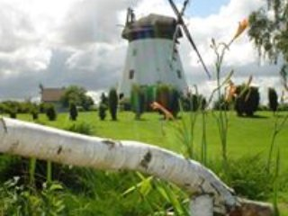 18th century Dutch Windmill Home near Baltic Sea on 1 acre meadow BREAKFAST