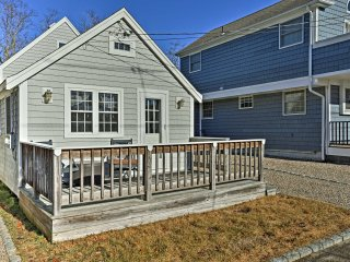 Mashpee Home Steps to Popponesset Beach!