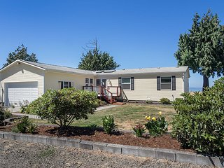 NEW! 3BR Port Angeles Home w/Views of the Bluff!