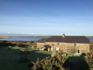 The Chour Lodge   Traditional Stone House   Exceptional Beach Front and views