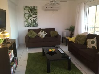 Lounge Area with two double sofa beds