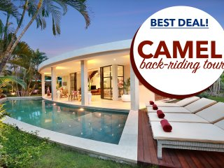 PROMO!AWARD WINNING VILLA*FREE 2 NIGHTS*BEACH*FREE BREAKFAST*LARGE*SEMINYAK*SAFE