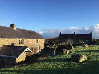 The Chour Cottage | Traditional Stone Cottage| Exceptional Beach Front and views