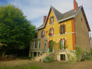 Unique house in historic village one hour from Paris.