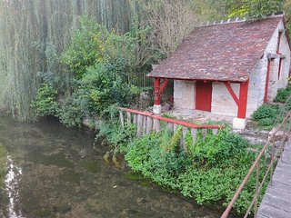 Unique house in historic village one hour from Paris