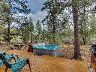 Rustic home w/ private hot tub plus SHARC passes for shared pools - dogs ok!