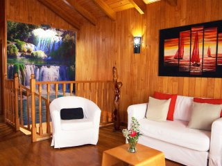 Casa de Madera Rural en pura naturaleza