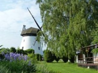 Cottage with a view by the pond and a Windmill near Baltic on a 1 ha BREAKFAST