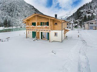 Lodge Eagle's nest at Tauerndorf Enzingerboden with lakeview and ski in & out
