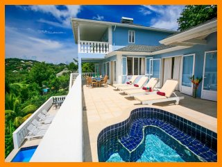 Saint Lucia 8 - 4 bed home, balconies, private pool, next to popular golf course