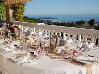 Heights of Cannes – sleep up to 25 people - 180° sea view