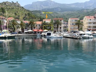 Galah Apartment Podgora, modern, views, location