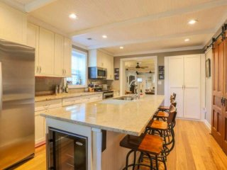 Newly renovated house with gourmet kitchen; great home base to launch your