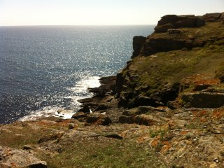 Maison de pecheur sur une Ile en Bretagne