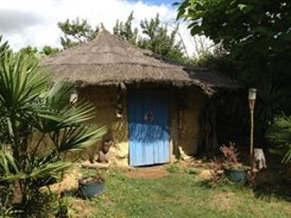 African hut