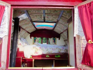 Gypsy Wagon at Greenland Glamping in West Sussex