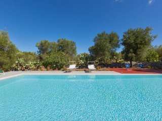 976 Trullo with Dependance and Pool in Carovigno