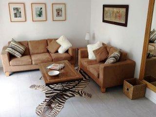 Duplex apartment with private garden, close to beach