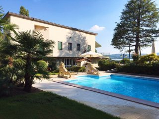 Villa Ninfee lakeside villa with pool and hot tub viverone piedmont italy