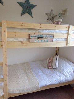 Bunk bedroom.