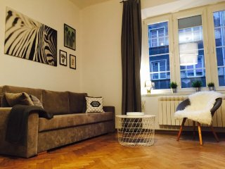 ZEBRA by WAWELOVE spacious apt for 4 in Old Town Kazimierz!