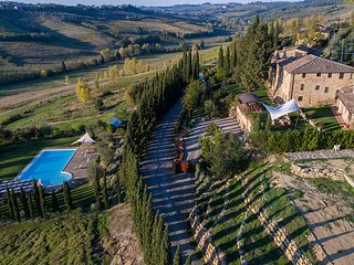 Villa Edera 14 - Prestigious villa nestled in the very heart of Chianti